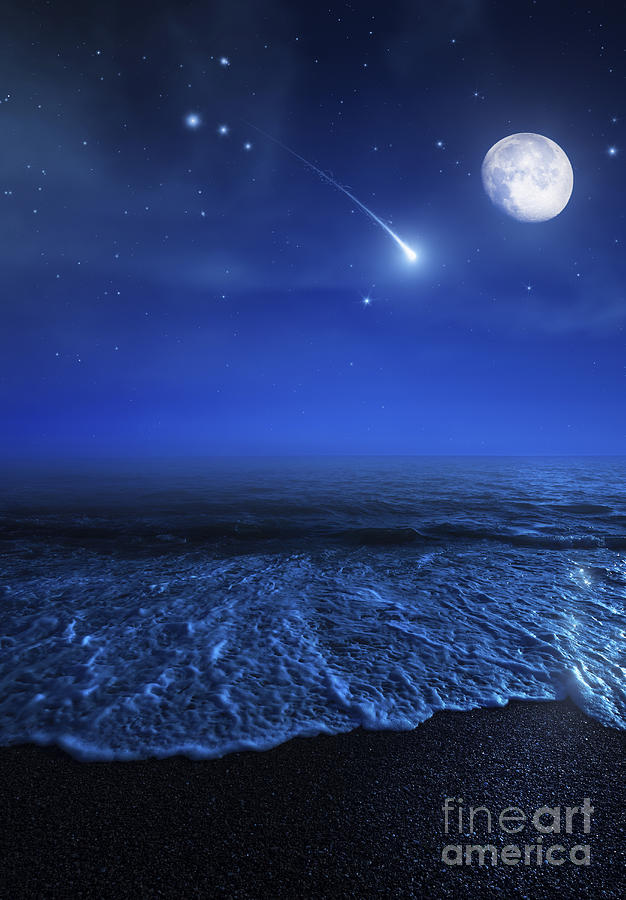 1-tranquil-ocean-at-night-against-starry-evgeny-kuklev